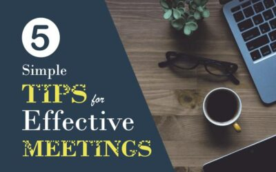 5 Simple Tips for Effective Meetings