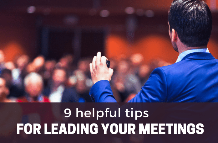 leading your meetings