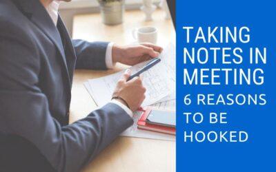 Prendre des notes en réunion, 6 raisons d'être accro