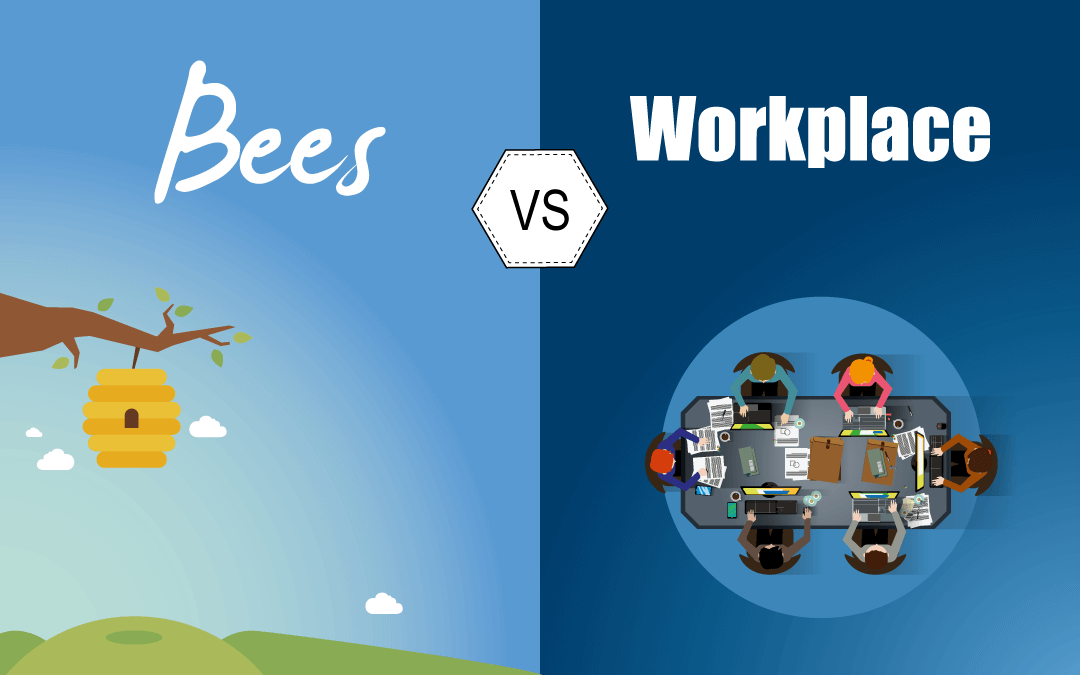 6 similarities you don't know about bees and the workplace