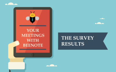 Your meetings with Beenote – Survey results