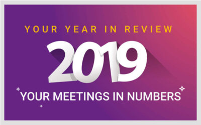 2019 Your year in review: Your meetings in numbers