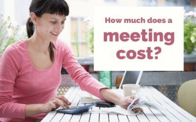Calculer le coût de vos réunions avec cette calculatrice