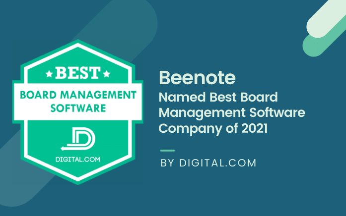 Beenote Named best board management software