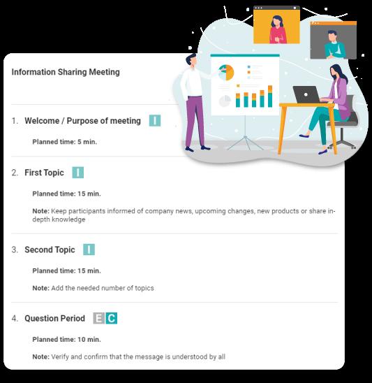 information sharing meeting beenote