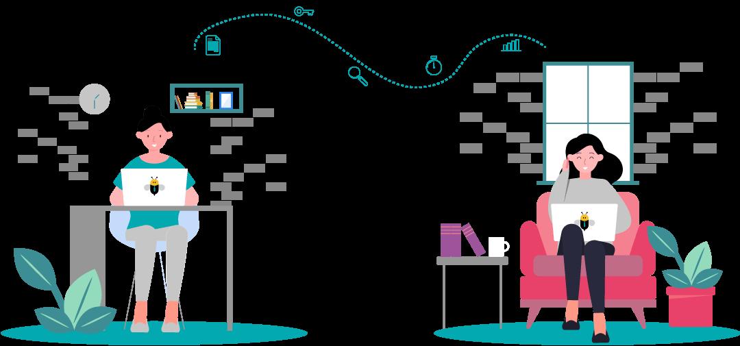 gestion des réunions en ligne
