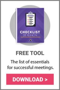 Free tool download meeting checklist