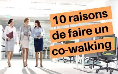 10 bonnes raisons de faire un co-walking à votre prochaine réunion (infographic)