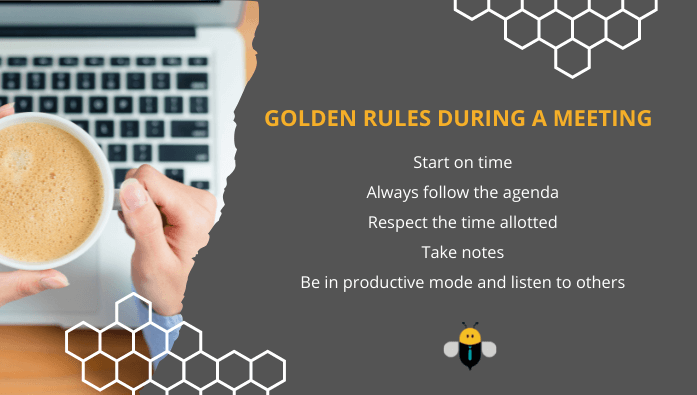 Golden rules during meeting