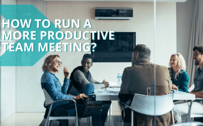How to run a more productive team meeting?
